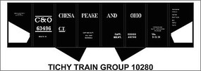 Tichy-Train HO C&O USRA Hopper Decal