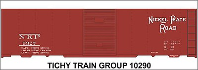 Tichy Train Group HO Nickel Plate 40' Bxcar Deca