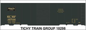Tichy-Train HO SL-SF 40 Steel Boxcr Decal
