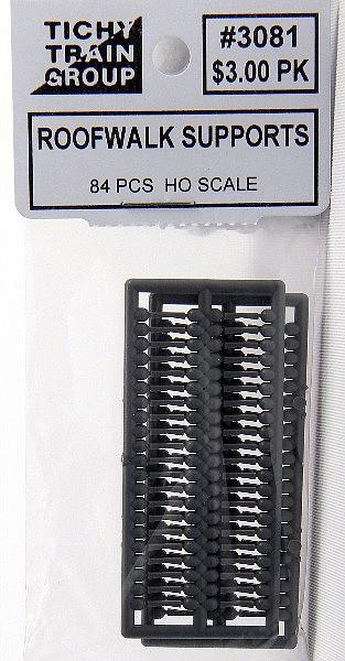 1 set Plastic Tichy Train Group HO #3029 Roofwalk 40/' Wood