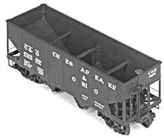 Tichy-Train ATSF #169288 52 War Emergency Mill Gondola HO Scale Model Train Freight Car #1042