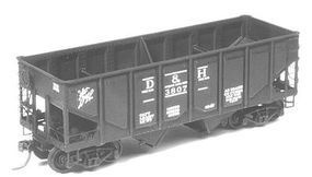 Tichy-Train 40 50-Ton Flat Car ACF HO Scale Model Train Freight Car #4021