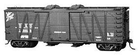 Tichy-Train 40 Boom Car HO Scale Model Train Freight Car #4022