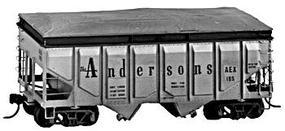 Tichy-Train The Anderson Company Panel Hopper Kit Converted to Grain Use HO Scale Model Train Fre #4031
