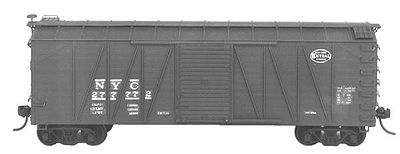 Tichy Train Group USRA Wood Boxcar Undecorated Kits (6) -- HO Scale Model Train Freight Car Set -- #6026