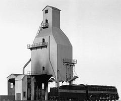 Tichy-Train 400-Ton Concrete Coaling Tower HO Scale Model Railroad Building #7010
