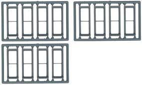 Tichy-Train 1/1 Double Hung Window (12) HO Scale Model Railroad Building Accessory #8096