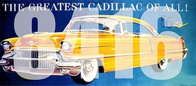 Tichy-Train HO The Greatest Cadillac of All! Vintage Billboard