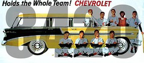 Tichy-Train HO Chevrolet Hold the Whole Team! Vintage Billboard