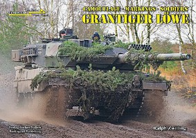 Tankograd In Detail Fast Track- Grantiger Lowe Camouflage, Markings, Soldiers