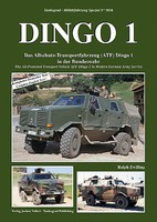 Tankograd Military Vehicle Special- Dingo 1 All-Protected Transport Vehicle in Modern German Army Service