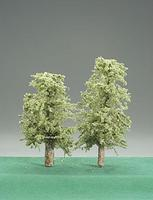 Timberline Spring Green Deciduous Trees 3 to 5 (2) Model Railroad Tree #205