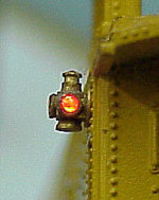 Tomar Adlake Marker Lights w/G-G-R Lens HO Scale Model Railroad Electrical Accessory #807