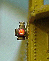 Tomar Adlake Marker Lights Yellow & Red HO Scale Model Railroad Accessory #809