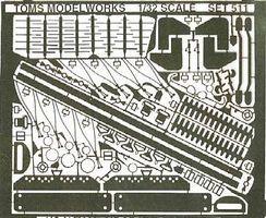 Tom/'s Model 302 X 1//72 WWI German Cockpit Detail Set