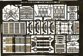 Toms WWII US Assorted Radar Equipment Detail Set Plastic Model Ship Accessory 1/700 Scale #706