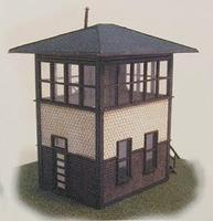 N-Scale-Arch Reading Company Standard Tower Kit N Scale Model Railroad Building #10012