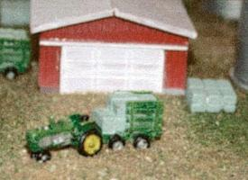 N-Scale-Arch Farm detail set - Z-Scale