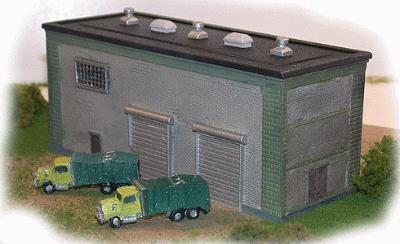 The N Scale Architect Trash Trucks pkg(2) -- Z Scale Model Railroad Vehicle -- #30032