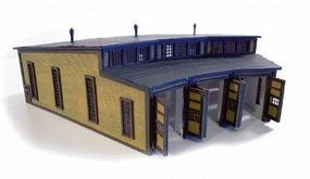N-Scale-Arch Stall Round House 3/ - Z-Scale (3)