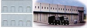 N-Scale-Arch Low Relief Concrete Warehouse Kit (Resin) Z Scale Model Railroad Building #30046