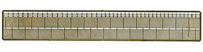 N-Scale-Arch Security Fence - Kit (Etched Brass) Z Scale Model Railroad Scenery Accessory #61061