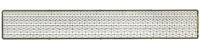 The N Scale Architect Cross Bar Fence - Z-Scale