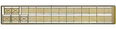 The N Scale Architect 12' Security Fence w/Gate - N-Scale