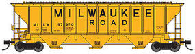 Trainworx PS2CD 4427 Covered Hopper Milwaukee #97886 N Scale Model Train Freight Car #2443404