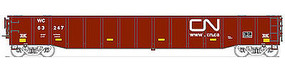 Trainworx Thrall 52 6 Gondola Car ICG #246518 N Scale Model Train Freight Car #2522001