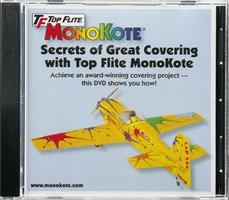 Top-Flite MonoKote Covering Instructional DVD