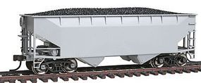 Trainman Offset-Side 2-Bay Open Hopper Undecorated HO Scale Model Train Freight Car #18870