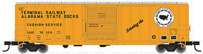 Trainman 50 6 Boxcar Terminal Railway Alabama State Docks HO Scale Model Train Freight Car #20001832