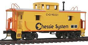 Trainman Steel Center-Cupola Caboose Chessie System #9022 HO Scale Model Train Freight Car #20002413