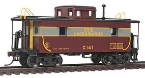 Trainman Steel Center-Cupola Caboose Erie Lackawanna #C141 HO Scale Model Train Freight Car #20002423