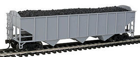 Trainman 70 Ton 3-Bay Hopper Undecorated Arch HO Scale Model Train Freight Car #20003010