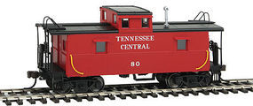 Trainman Cupola Caboose Tennessee Central #80 HO Scale Model Train Freight Car #20003732