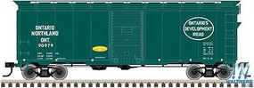 Trainman Ho 37 40BOXCAR Kit ON 90812