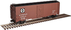 Trainman 37 40 Boxcar Kit Santa Fe #138019 HO Scale Model Train Freight Car #20003796