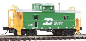 Trainman Cupola Caboose Burlington Northern 10315 N Scale Model Train Freight Car #39880