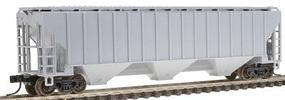 Trainman Thrall 4750 3-Bay Covered Hopper Undecorated N Scale Model Train Freight Car #50000027