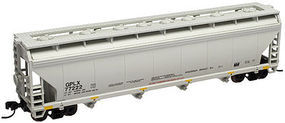 Trainman 4-Bay Covered Hopper General American GPLX #77227 N Scale Model Train Freight Car #50000642