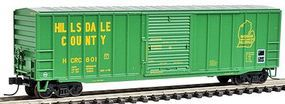 Trainman 506 Boxcar - Ready to Run - Hillsdale County #801 N Scale Model Train Freight Car #50000769