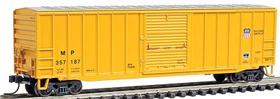 Atlas Trainman 50'6'' Boxcar Union Pacific/MP #357187 -- N Scale Model Train Freight Car -- #50000771