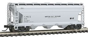 Trainman ACF(R) 3560 Center Flow Covered Hopper Morton Salt N Scale Model Train Freight Car #50000914