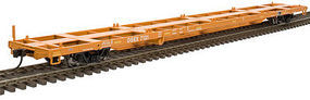 Trainman 85 Trash Container Flatcar East Carbon Development N Scale Model Train Freight Car #50001073