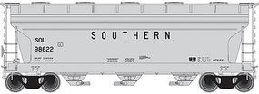 Trainman ACF 3560 Center-Flow Covered Hopper Southern Railway N Scale Model Train Freight Car #50001894
