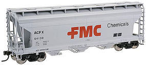 Trainman 3560 Covered Hopper FMC #64142 N Scale Model Train Freight Car #50002273