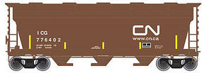 Trainman 3560 Covered Hopper Canadian National #776402 N Scale Model Train Freight Car #50002277