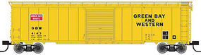 Trainman 50 Single Door Boxcar GBW #4143 N Scale Model Train Freight Car #50002359
